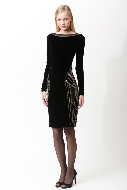 Badgley Mischka, LBD, prefall 2013