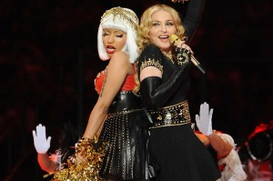 fausto puglisi, worn by nicki minaj_madonna, superbowl 2012