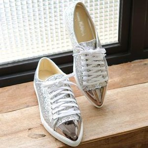 metallic glitter trainers117372862
