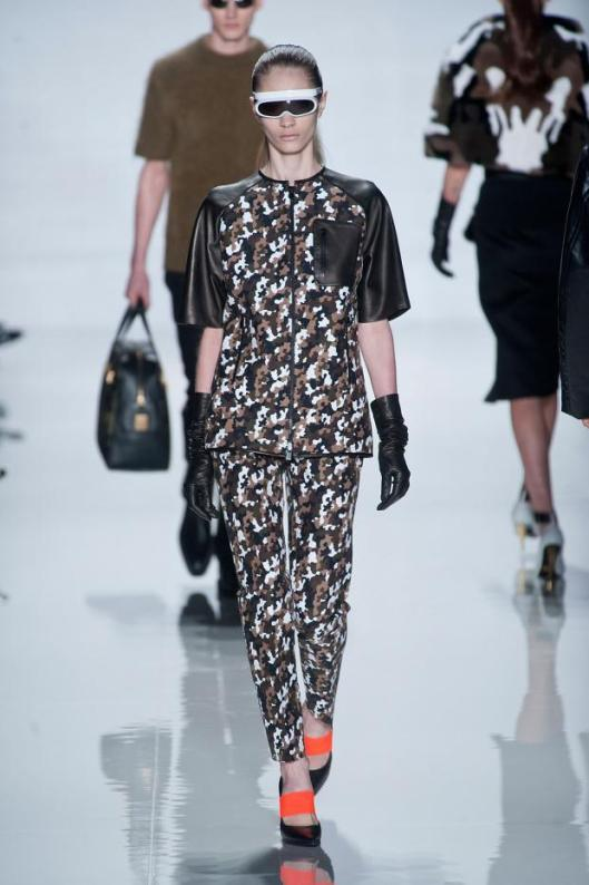 camo wear michael-kors-autumn-fall-winter-2013-nyfw32