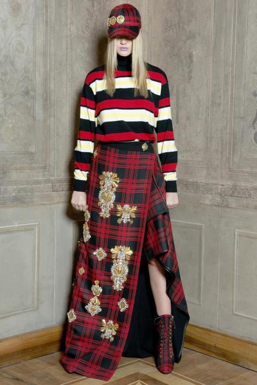 tartan wear fausto-puglisi-look-book-autumn-fall-winter-20133