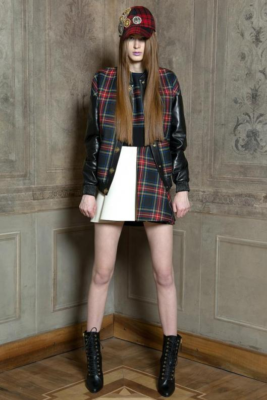 tartan wearfausto-puglisi-look-book-autumn-fall-winter-201331