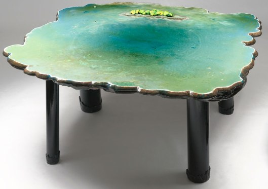 gaetano pesce, pond table, design boomcom 04