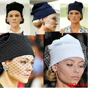 wool beanies with veils