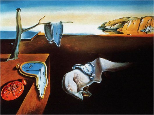 painting, the persistence of memory, dali