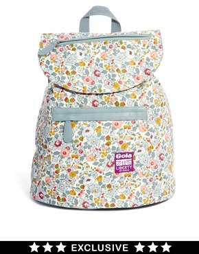 backpack Dunaway Betsy by Gola, Liberty London floral print