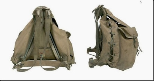 backpack hist bergan 1909 patented design