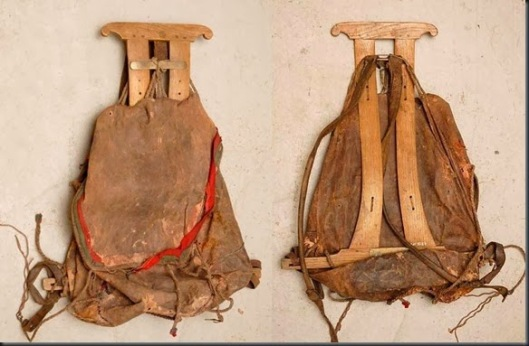 backpack hist pics norwegian sekk med meis %22bag with a frame' dates to 1880