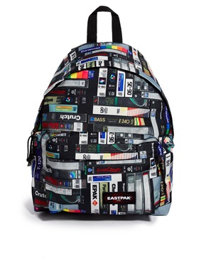 backpack men eastpak VHS motif