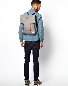 backpack mens Herschel grey
