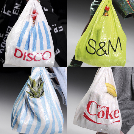 bag grocery shop carry ashish-marks-and-spencer-carrier-bag-tesco-carrier-bag-sequin-handbags-quirky-designer-bags-for-sprong-summer-2014