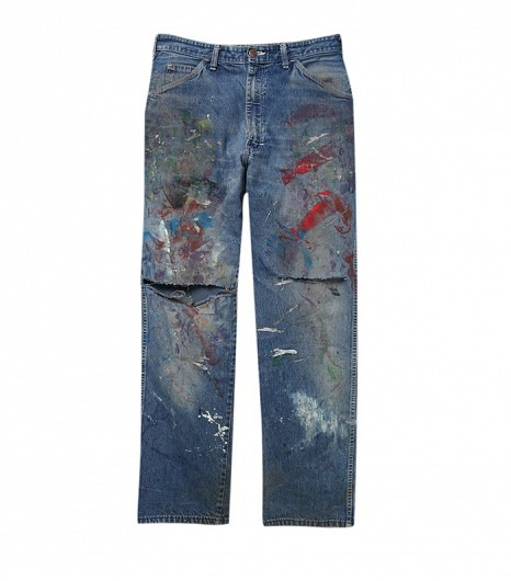 denim painterly jeans 2 vintage dickie's