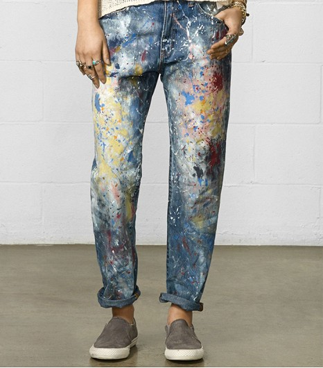 denim painterly jeans www