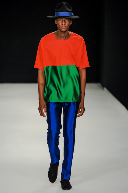 favourte s14 men e.tautz red green blue florescent