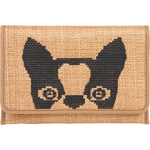 marc jacobs bamboo effect dog face clutch polyvore