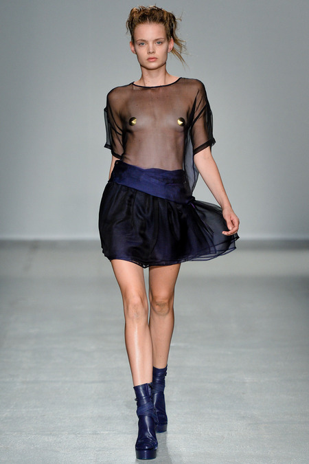see through spring 14 A.F vandevorst