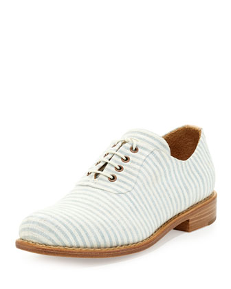 shoes Mr. hampton striped seersucker oxford angela scott nm