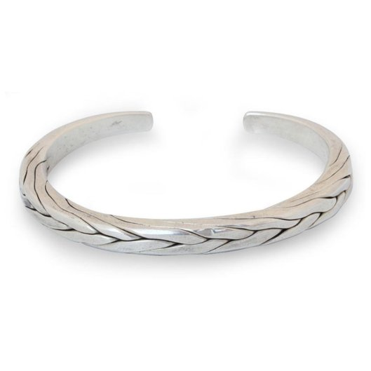 silver cuff bracelet for men from rakutencom