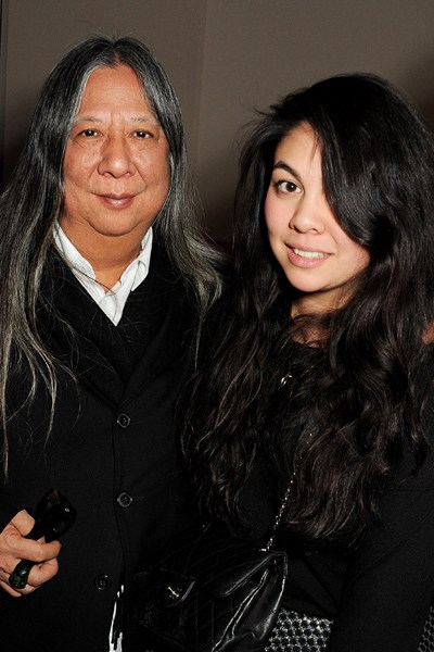 simone and john rocha portrait - tatler.