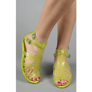 summer rubber melissa liberty sandals jelly lime green polyvorecom