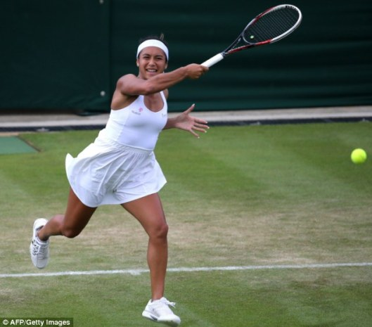 wimbledon whites heather watson british 1 dailymmailarticle-2668502-1F152EF500000578-109_634x558