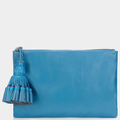 any hindmarchGeorgiana-Clutch-London-Blue_1