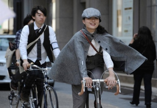 cycle fashion japan trends.com 2013tweed-run-tokyo-2013-2