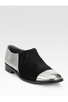 metallic shoeshoppingonlinesale.infomarni-metallic-leather-calf-hair-loafers-discount