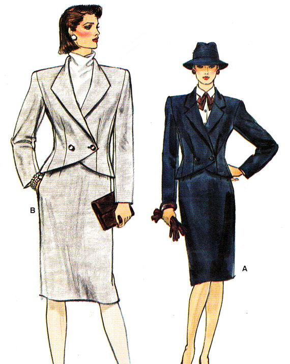 Skirt suiting: style coordination and the rest is history ...