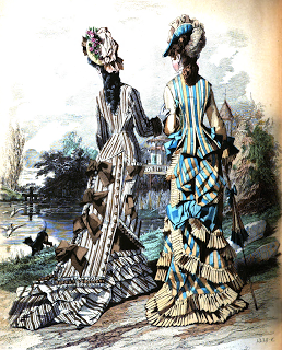 19th century walking costume historical tidbits1876 fashions.160 dresses