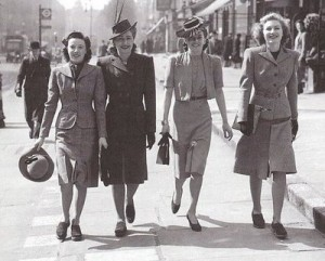 What Did Women Wear in the 1940s?