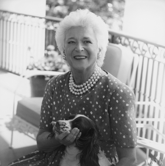 horst barbara bush from uberchicmichi10-first-ladies-in-dresses-barbara-bush_145155439056
