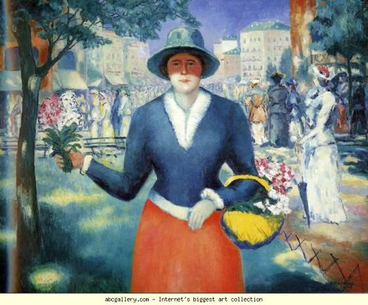 kazimir malevich flower girl 1903 from pravda.ru191