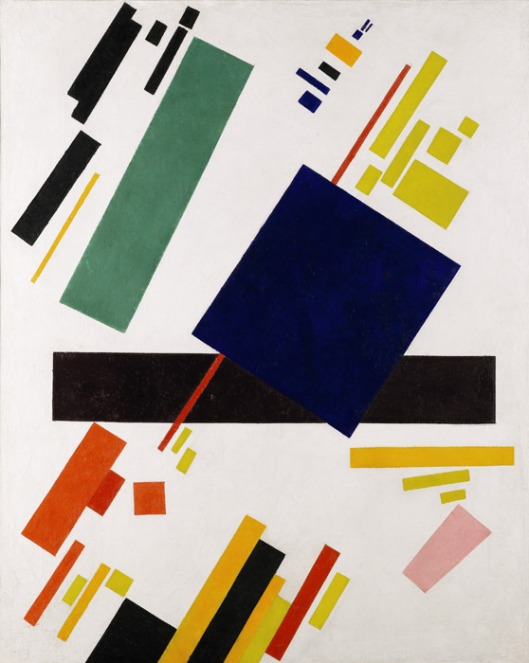 malevich_suprematist 1916 from artobserved.com