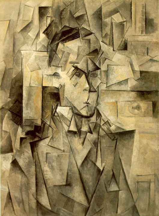picasso cubist portrait of wilhelm Uhde 1910 from artchive.comuhde