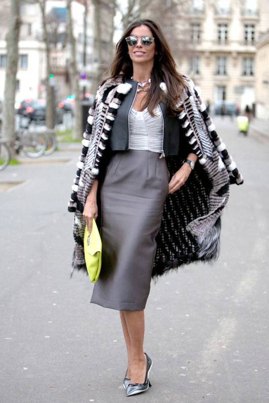 skirt suiting grey skirt black boleroelle-11-paris-street-style-3-v-xln