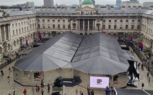 London fashion week tents at somerset house16487