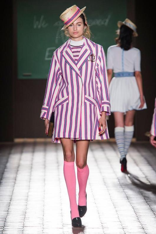 school uniform, candy stripes