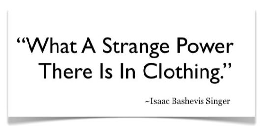 what a strnage power the is in ClothingQuote