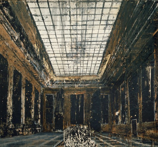 anselm kiefer, painiting, interior, 1981