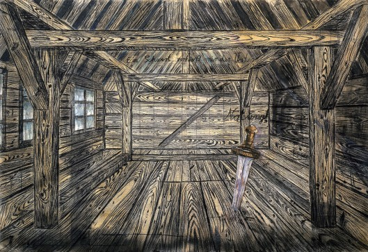 anselm kiefer, painting, nothung, 1973