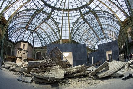anselm kiefer, installation grand palais paris, 2007