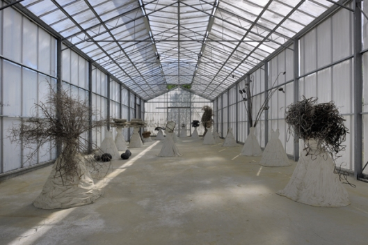 anselm kiefer, studio, greenshouse