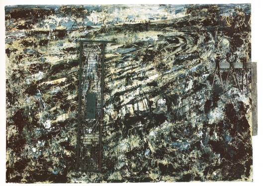 anselm kiefer, painting, wolundlied, 1982