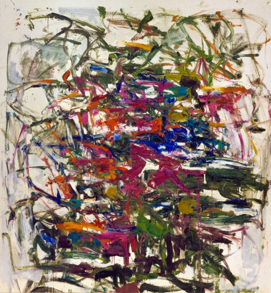 abstract painting, joan mitchell, 1957