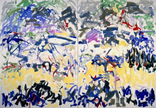 abstract painting, joan mitchell, 1989