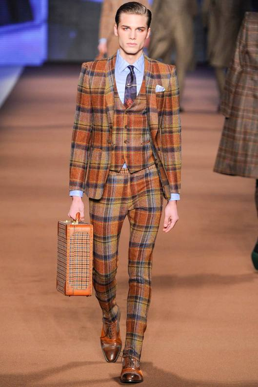 menswear, suit, plaid, etro, a 14