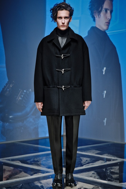 mens wear. overcoat, balenciaga