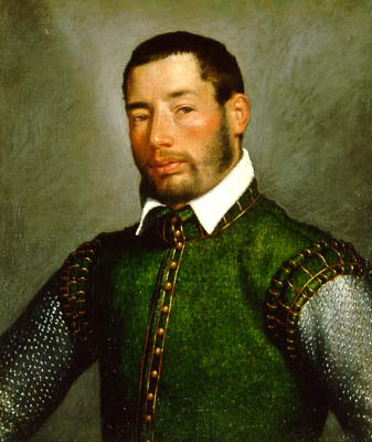 Moroni, Portrait of a Gentleman, 1565, from artnet , at Feigen mason5-4-3