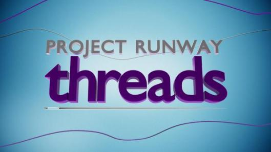 project runway threads, logo